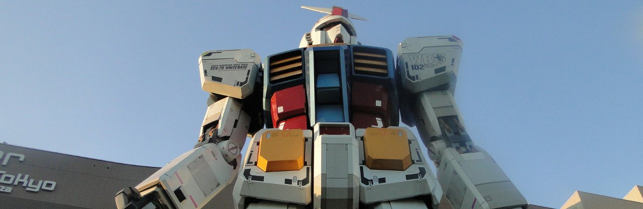 Antiguo Gundam en Odaiba - Nombres Japoneses